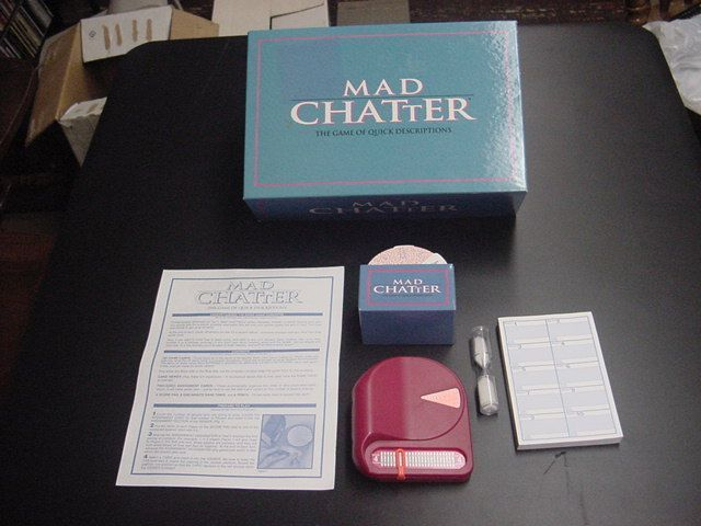 настольная игра Mad Chatter