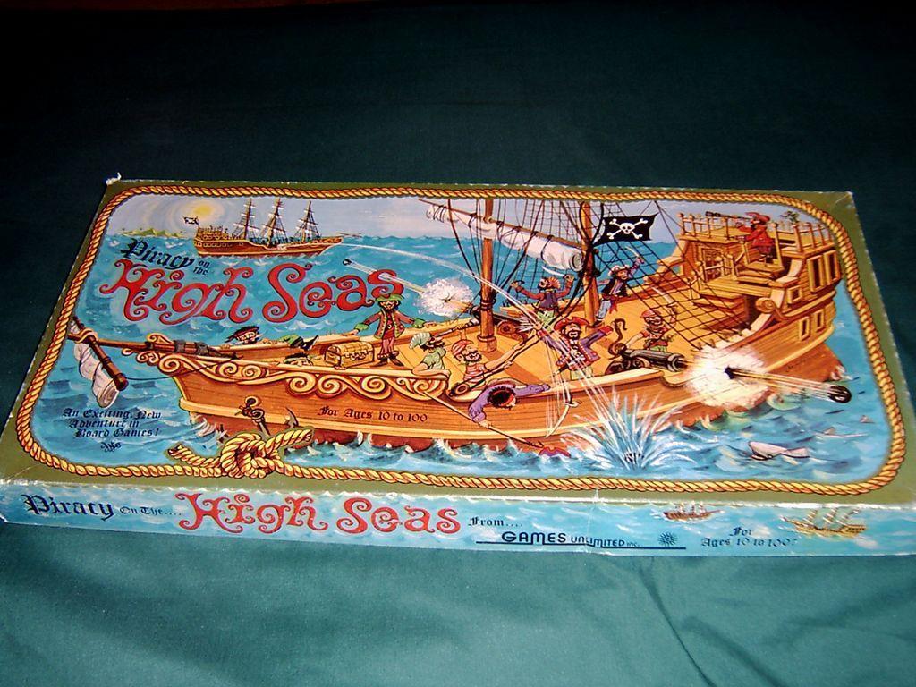 настольная игра Piracy on the High Seas