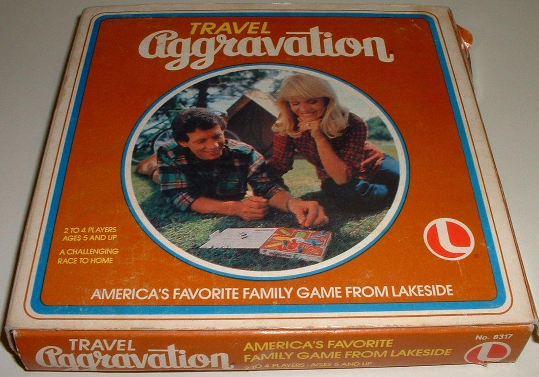настольная игра Travel Aggravation