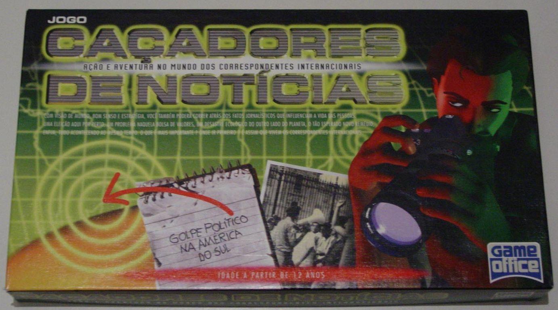 настольная игра Caçadores De Notícias