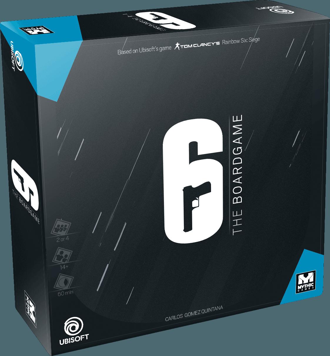 настольная игра 6: Siege – The Board Game