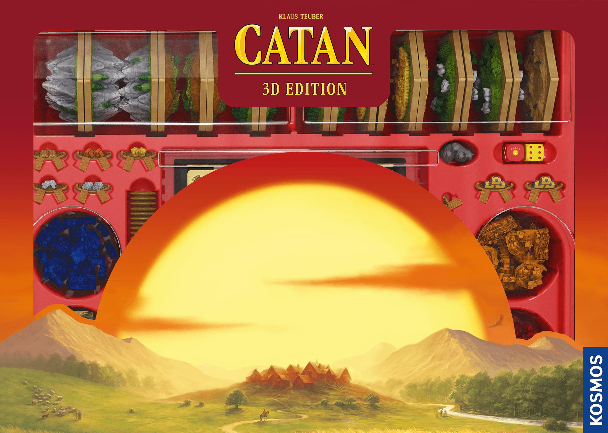 настольная игра CATAN: 3D Edition
