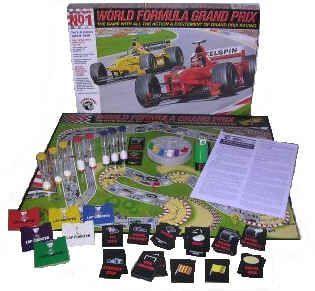 настольная игра Wheelspin No 1 World Formula Grand Prix
