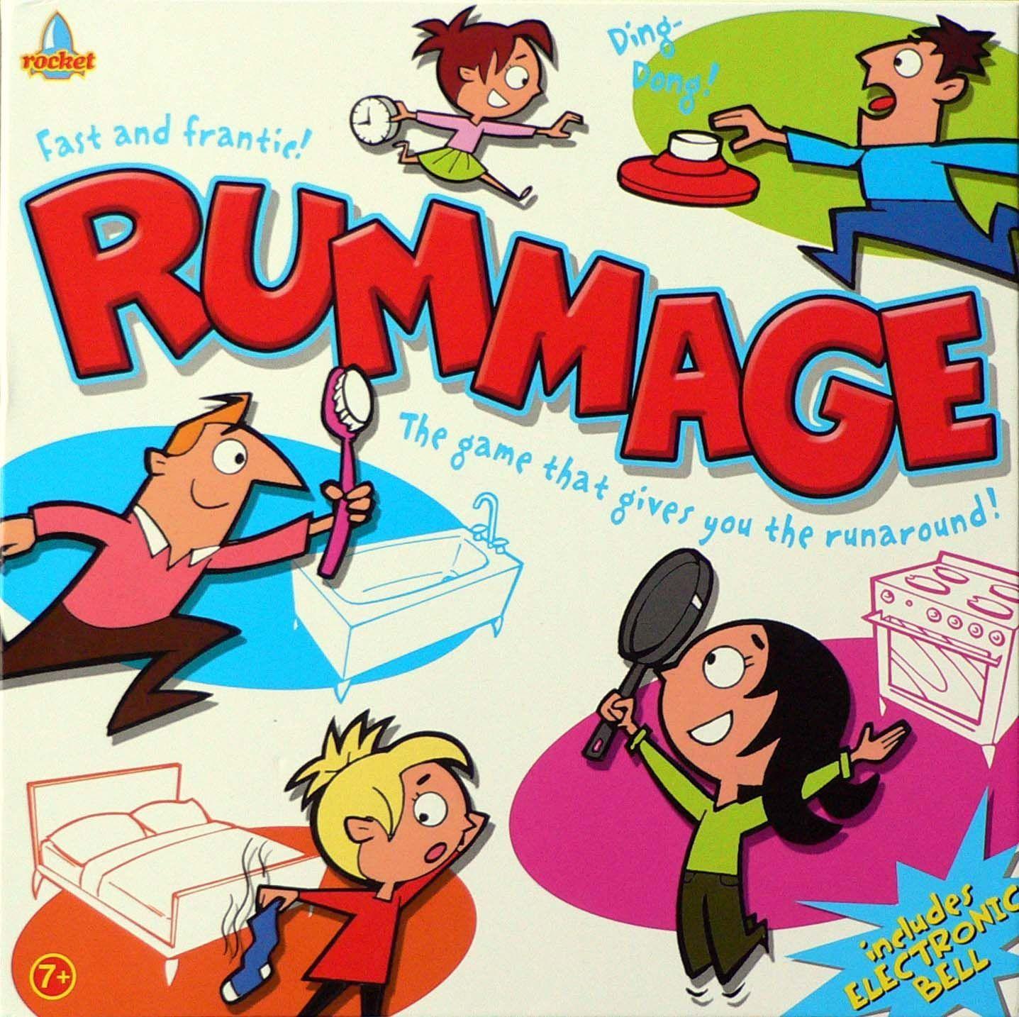 настольная игра Rummage