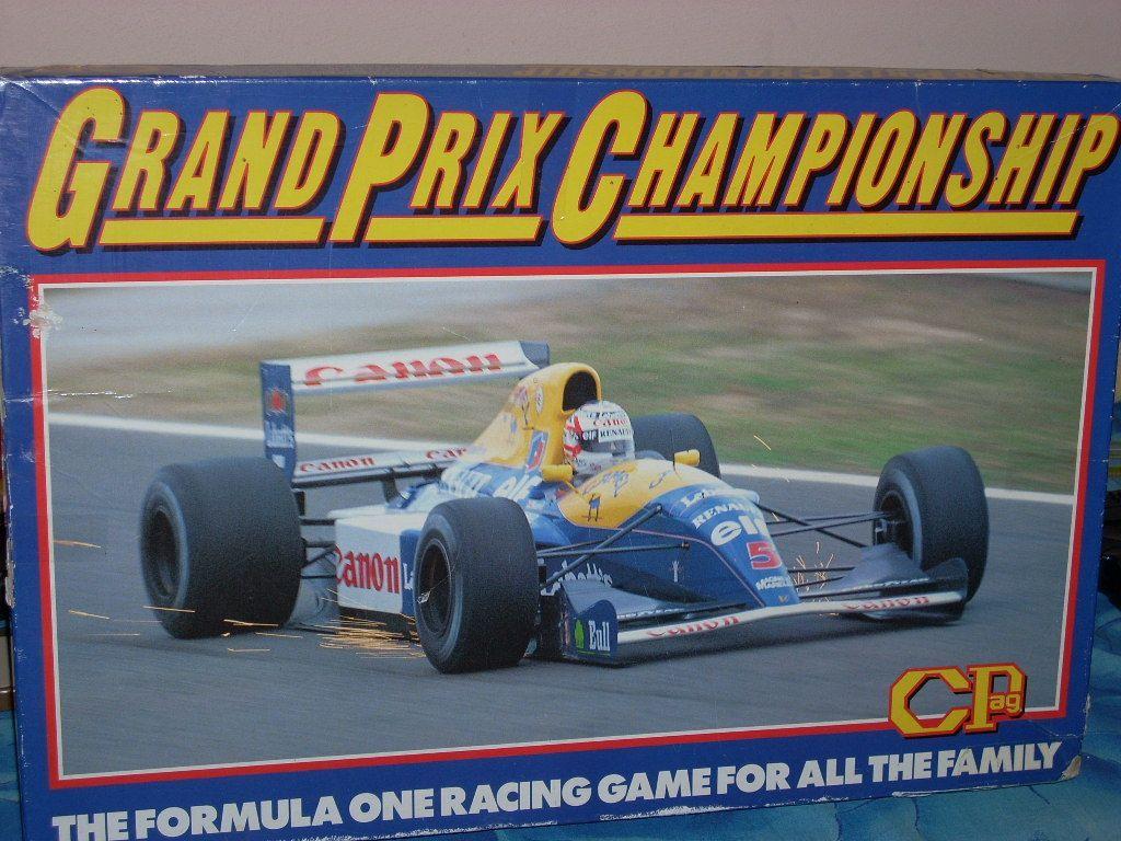 настольная игра Grand Prix Championship