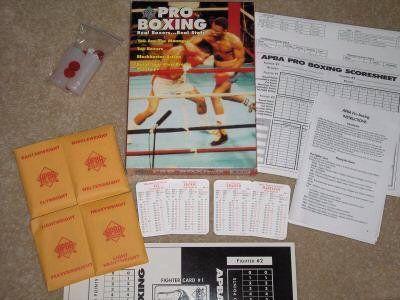 настольная игра APBA Boxing