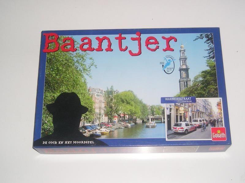 настольная игра Baantjer