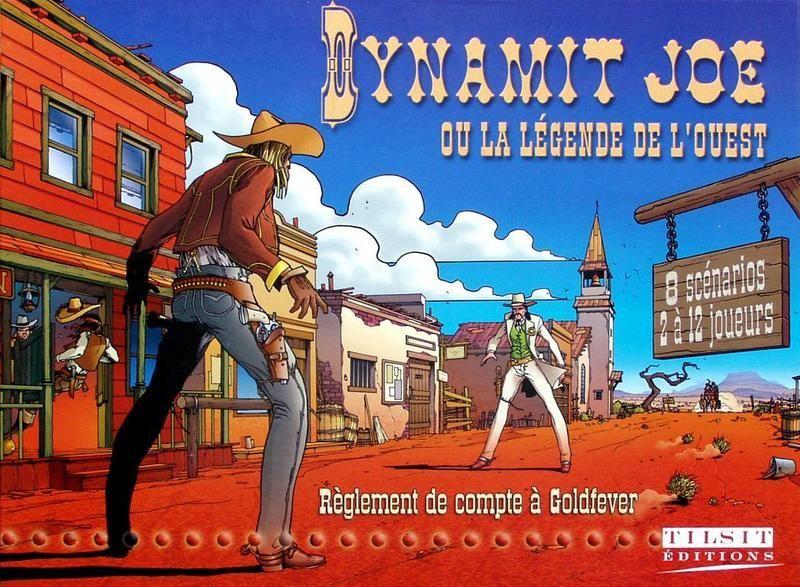 настольная игра Dynamit Joe