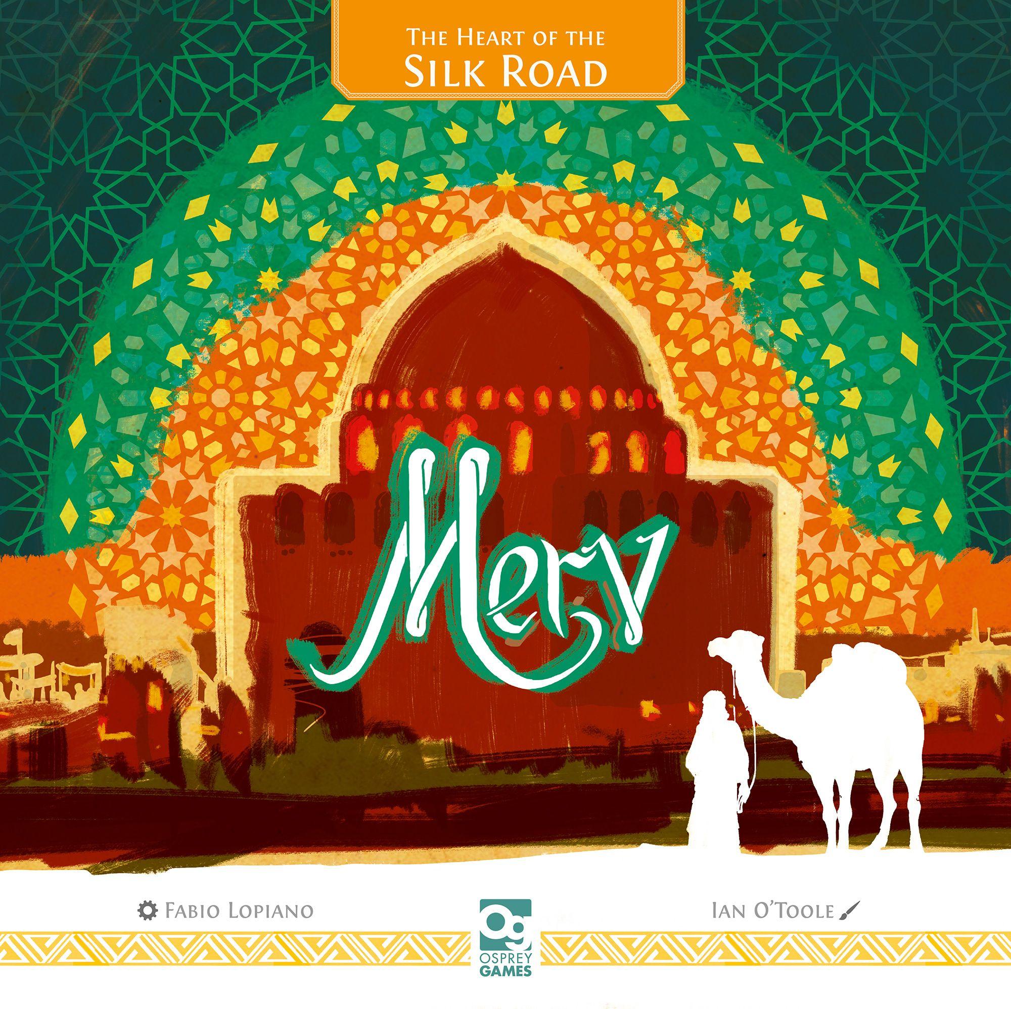 настольная игра Merv: The Heart of the Silk Road