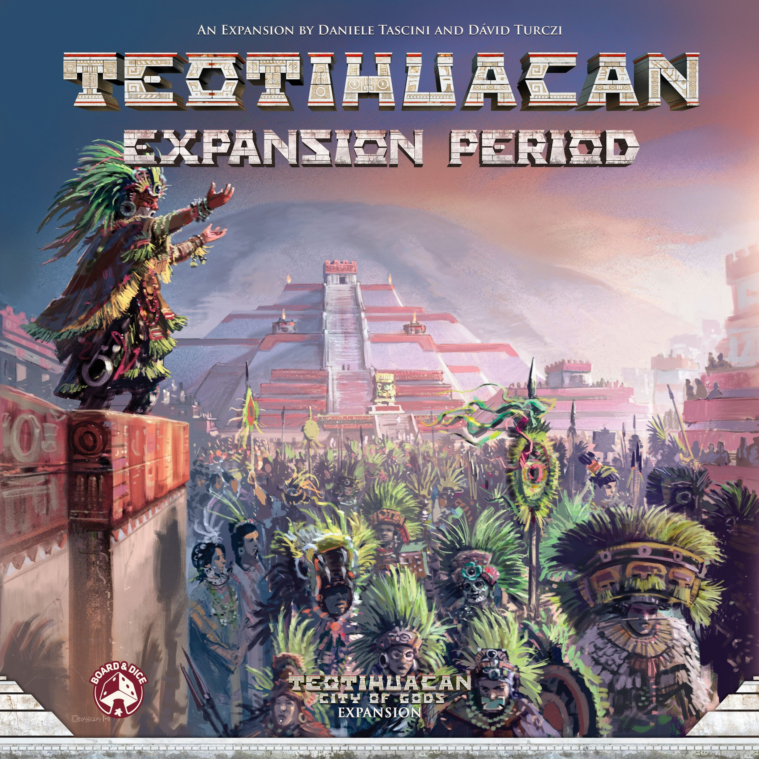 настольная игра Teotihuacan: Expansion Period