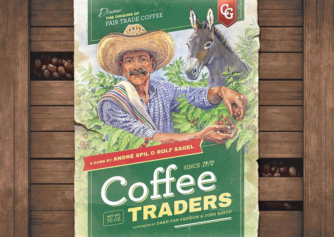 настольная игра Coffee Traders