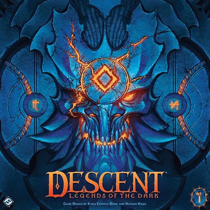 настольная игра Descent: Legends of the Dark