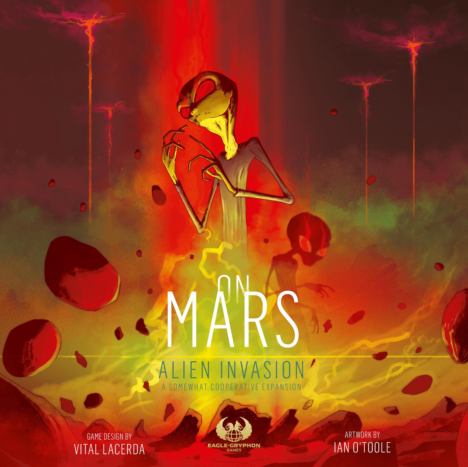 настольная игра On Mars: Alien Invasion – A Somewhat Cooperative Expansion