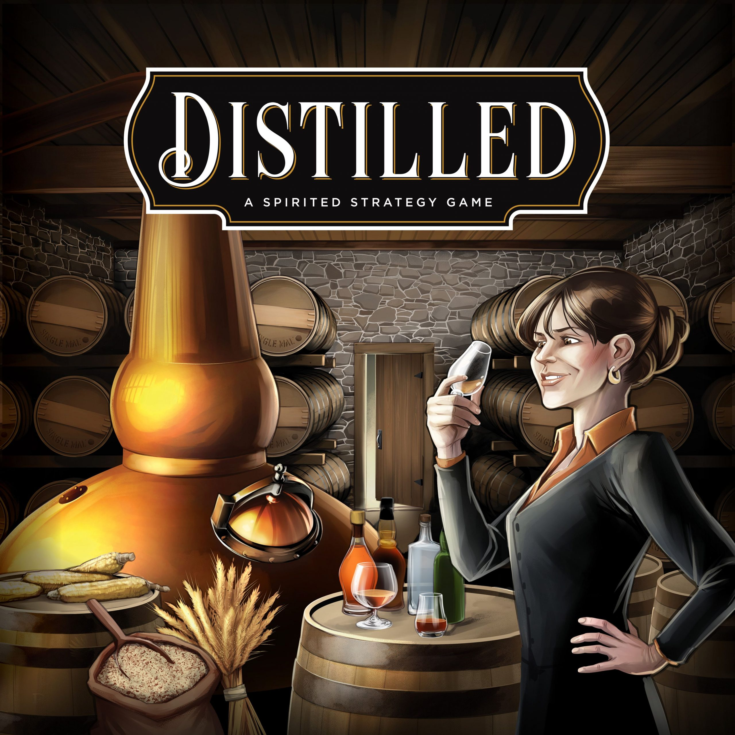 настольная игра Distilled
