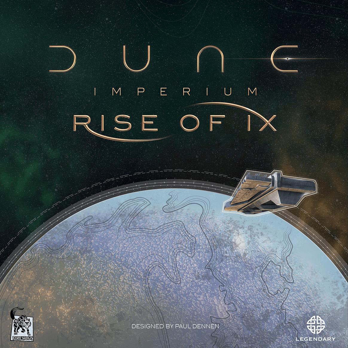настольная игра Dune: Imperium – Rise of Ix