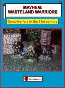 настольная игра Mayhem: Wasteland Warriors