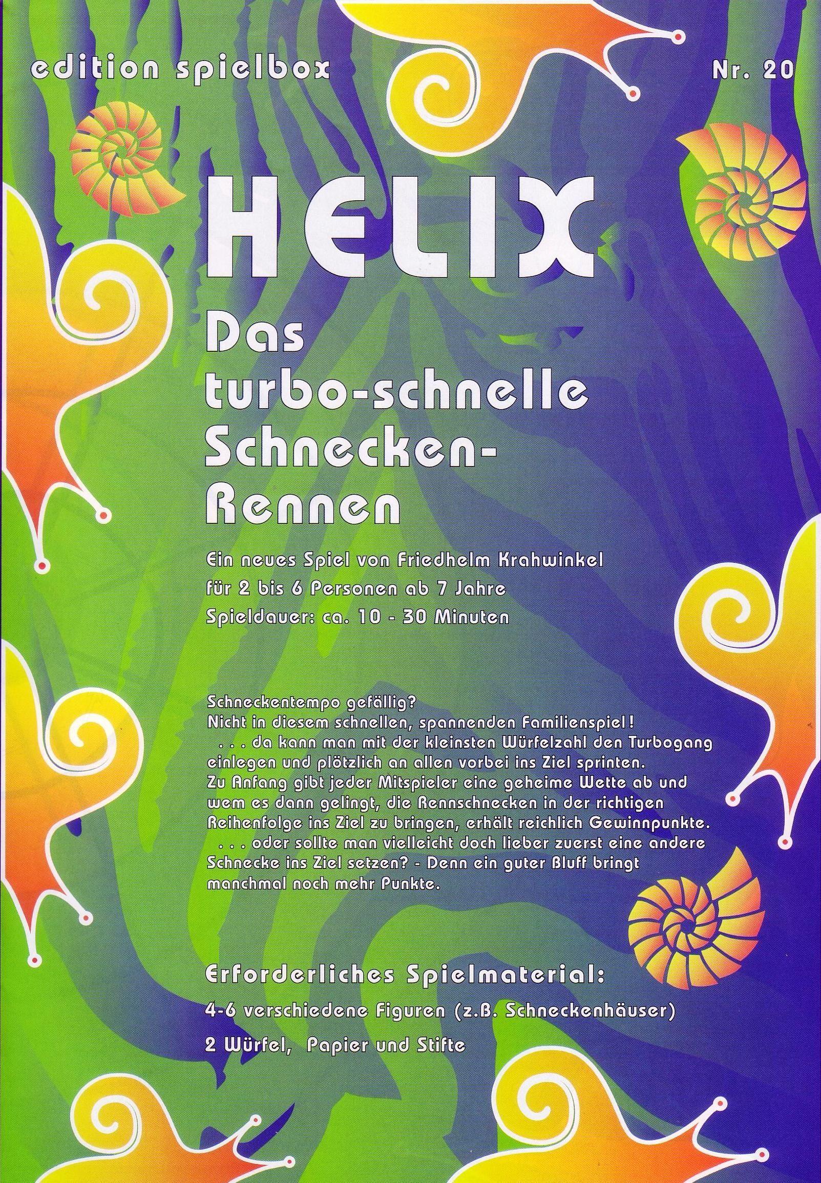 настольная игра Helix