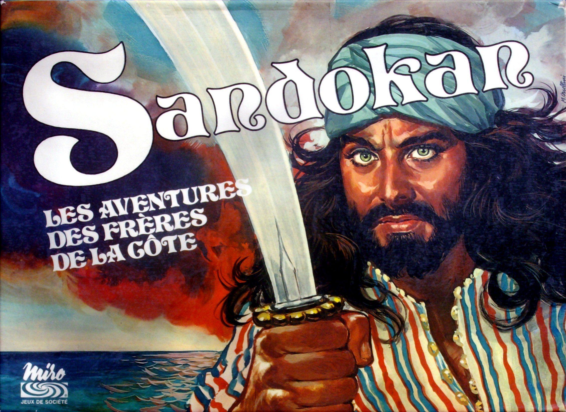настольная игра Sandokan