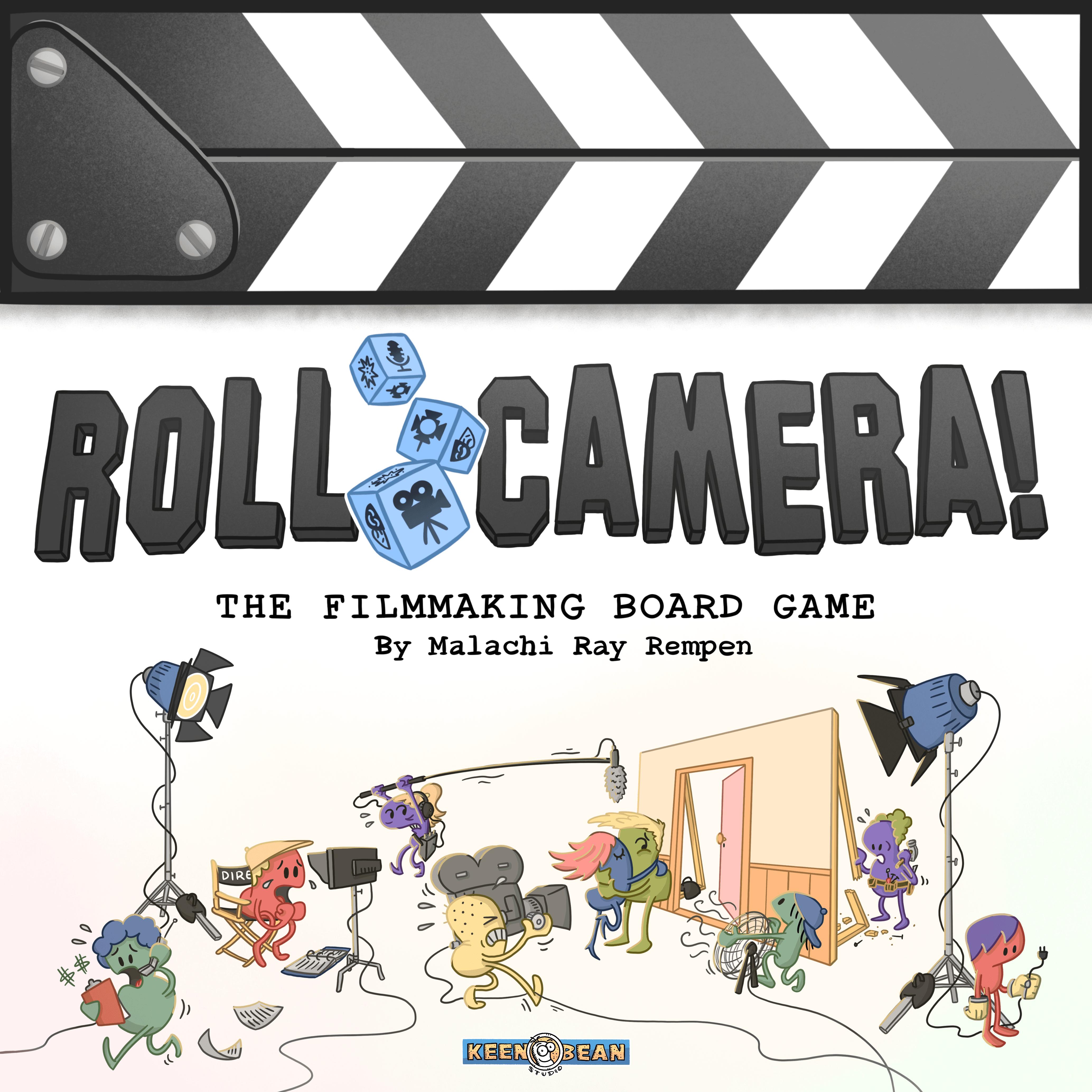 настольная игра Roll Camera!: The Filmmaking Board Game