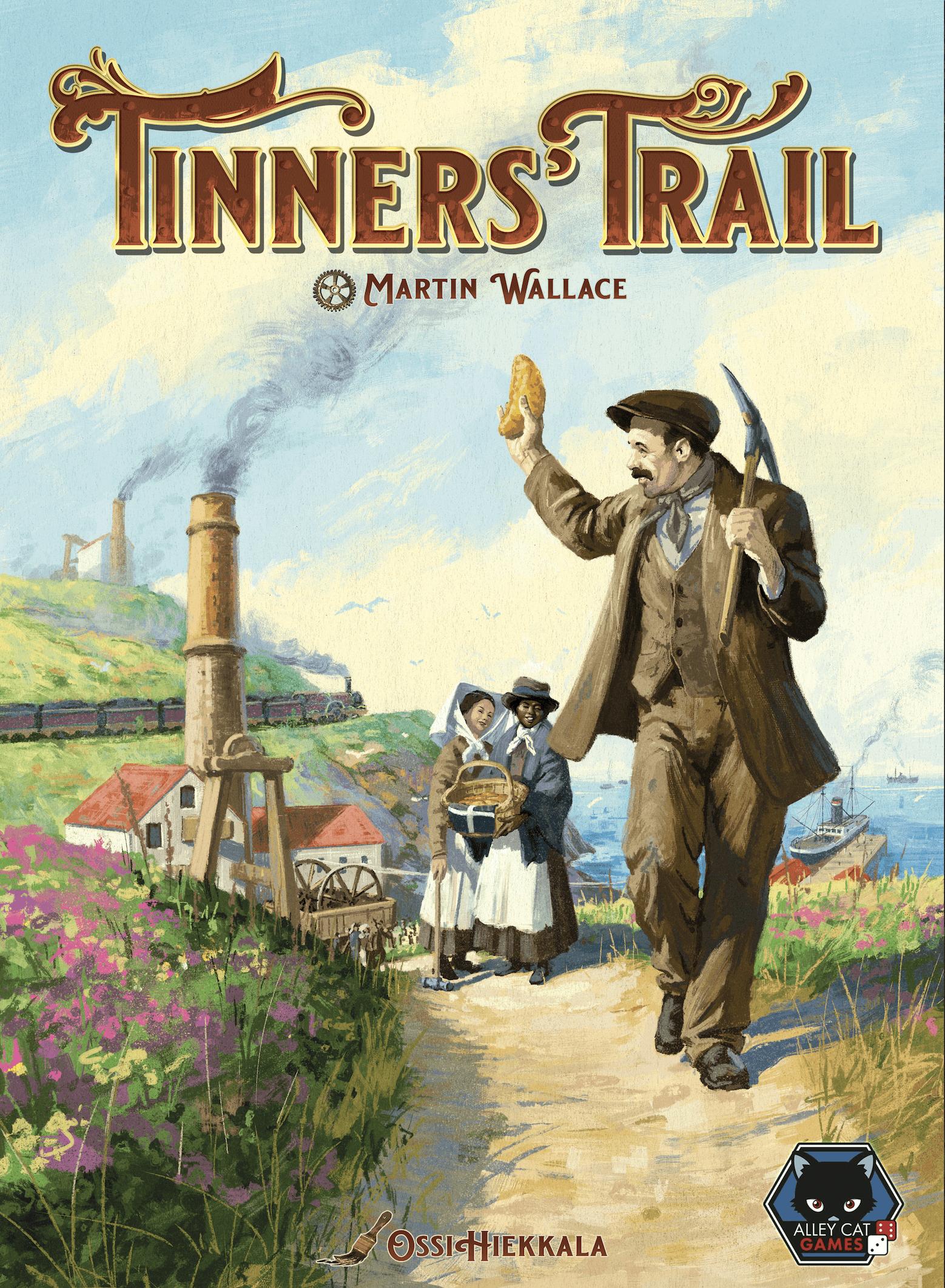 настольная игра Tinners' Trail