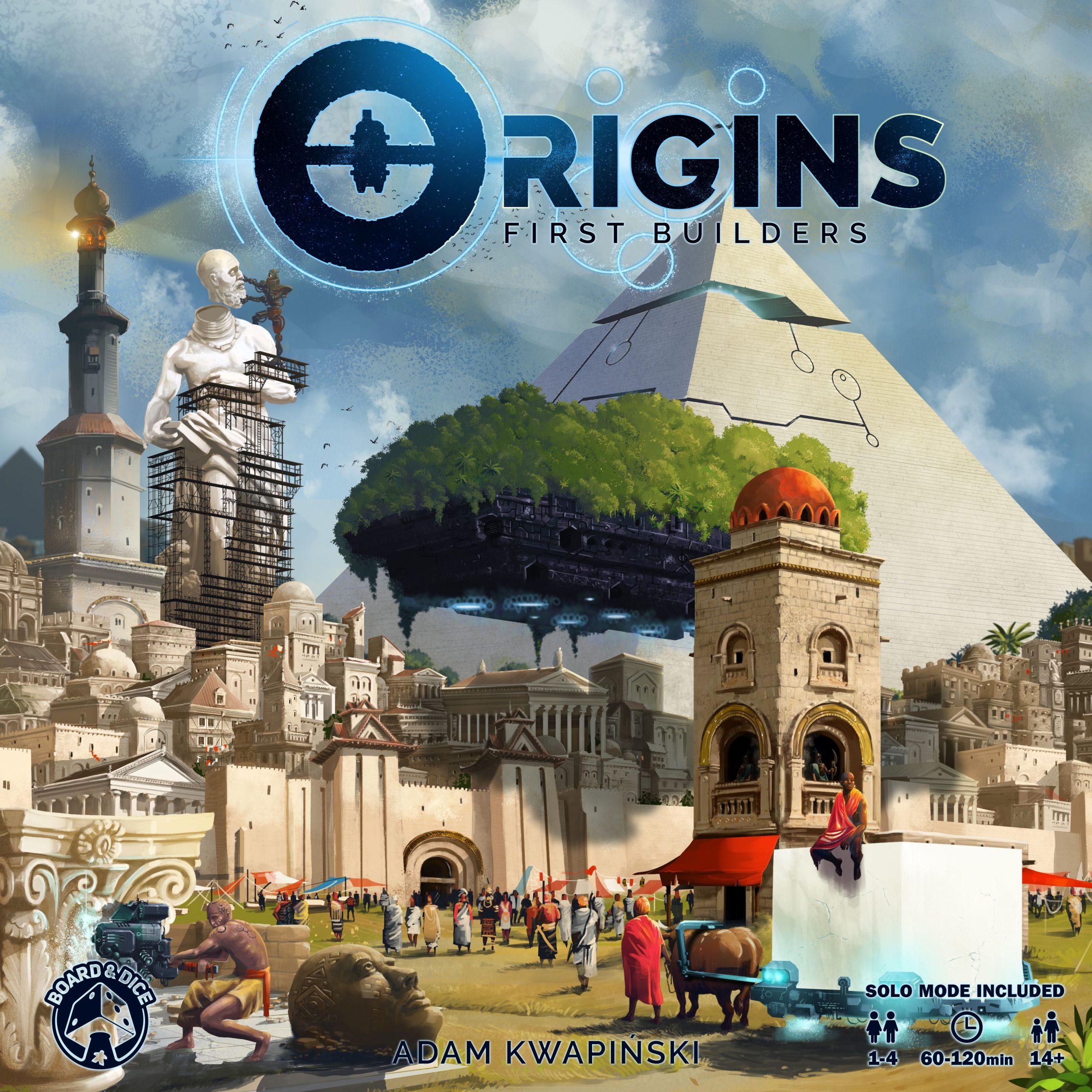 настольная игра Origins: First Builders