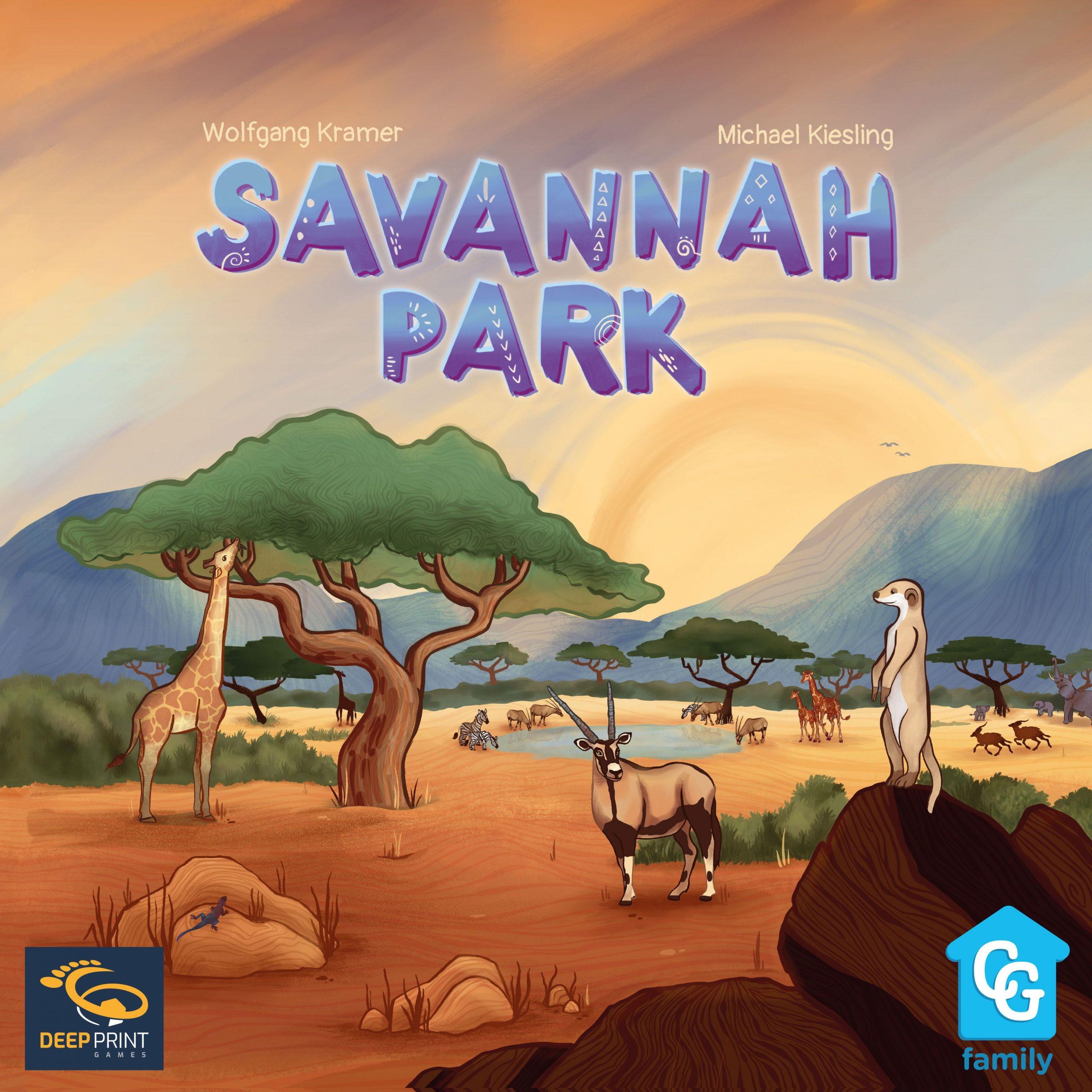 настольная игра Savannah Park